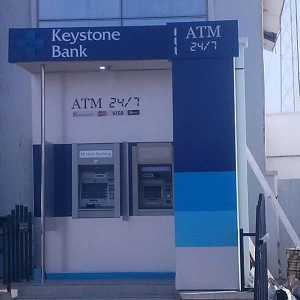 ATM Kiosk Fabrication and design by Liquidfire Engineering Services Lagos Nigeria